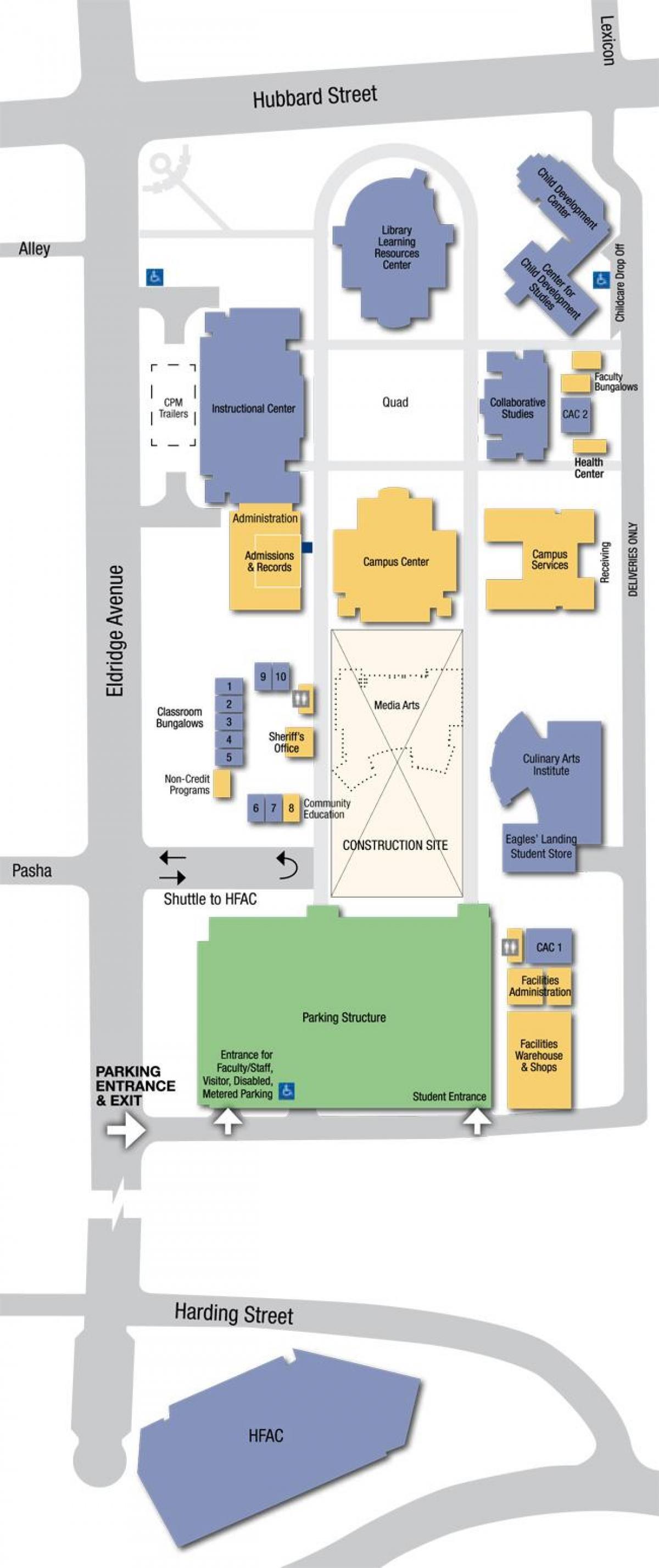la mission college campus map la mission college campus map